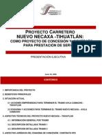 Proy Carr Nuevonecaxa Tihuatlan