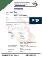 INFORME N° 001 - CONF. VAL ING MIRCO