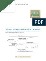 Model Predictive Control in LabVIEW