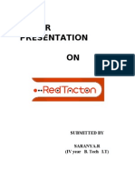 Paper Presentation Redtacton