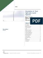 Docslide.us Solidworks Report of Light Pole