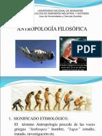 8. ANTROPOLOGÍA  FILOSÓFICA