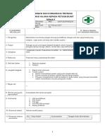 7.2.2.3 Sop Koordinasi Dan Komunikasi Tentang Informasi Kajian Keda Petugas or Unit Terkait