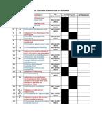 Checklist Dokumen Spo Dan Kebijakan