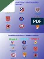 Encuentros Torneo Nacional Alevin 2010