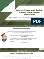 17. Do You Speak English (1)
