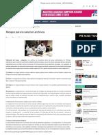 Riesgos Para La Salud en Archivos - ARCHIVOSAGIL