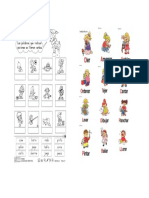 verbos para niños - Segundo Grado