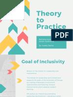 student development theory to practice presentation