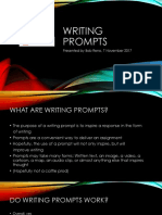 Writing Prompt Presentation