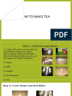 How to Make Tea PPT