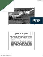 03 El Agua - Ciclo Hidrológico 2017-2B