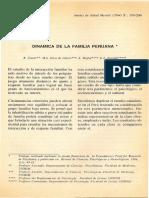 Dinamica de La Familia Peruana