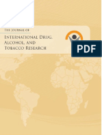33. International Drug Alcohol and Tobaco Research