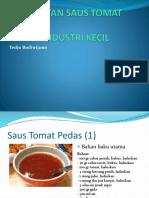 Pembuatan Saus Tomat Sehat