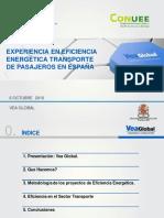 Lic Javier Monge Desarrollo de Negocio Vea Global Camescom Experiencias en Eficiencia Energ Tica en El Transporte en Espa A