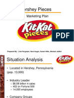 Hershey Kit Kat Pieces Powerpoint for Marketing Plan