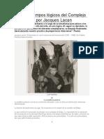 312106069 Los Tres Tiempos Logicos Del Complejo de Edipo