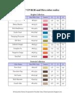 SU RGB Color Codes for Imagine_2010
