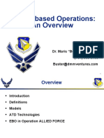 Effects-Based Operations an Overview
