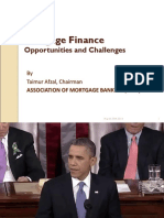 Mortgage Finance - Opportunities & Challanges (1)