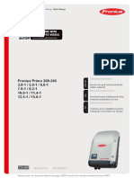 Manual de Instrucciones Fronius