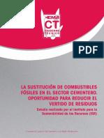Cuaderno Técnico. La Substitución de Combustibles Fósiles en el Sector Cementero. Oportunidad para Reducir el Vertido de Residuos.pdf