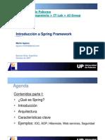 Introducción a Spring Framework