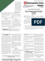 Buletin Rumaysho MPD Edisi 27