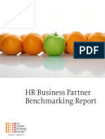 HRBP Benchmarking Report - Talent Strategy Group