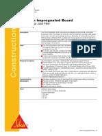 Bitumen Impregnated Board