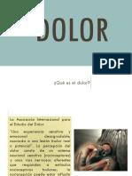 Clasificación Del Dolor y Analgésicos Centrales