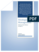 Strategic Management Tata Vistara