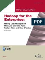 Tdwi Hadoop for Enterprise