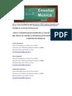 Usos y Conceptualizaciones de La Voz en La Música