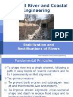 Stabilization and Rectification of Rivers