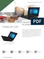 Toshiba Portege A30 C Z02 Web
