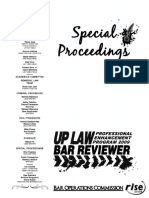 UP 2009 Remedial Law (Special Proceedings)