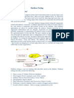 Database Testing Basic Concepts