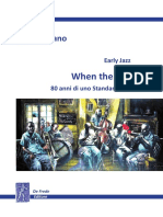 Early Jazz - WHEN THE SAINTS , 80 anni di uno Standard del Jazz