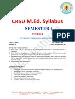 Crsu m.ed_. Syllabus