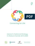 Irlanda Suicide Prevention Strategy 2020