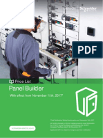 Schneider electrical Panel Builder Nov 17 price list