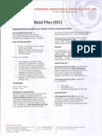 CAC Hyperfluid Plus (H2) - TDS