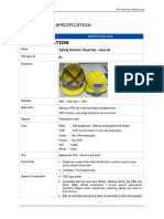 LCI Bekasi Workshop - PPE Standart Specification - References