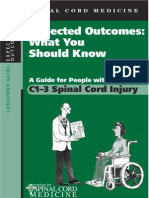 A Guide for People With C1-C3 Spinal Cord Injury