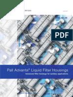 99.Xx USD2007(1) Pall Advanta Liquid Housings BRO