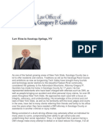 The Law Office of Gregory P. Garofalo