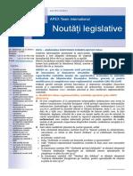 APEX Team Noutati Legislative 1 2018