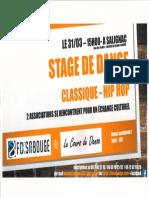 Stage de danse classique / hip hop